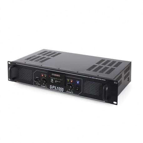 Усилитель SkyTec SPL-1000 HiFi USB SD MP3, 2 х 500 Вт