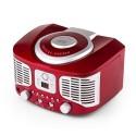 Проигрыватель в ретро стиле Auna RCD320 FM-AUX
