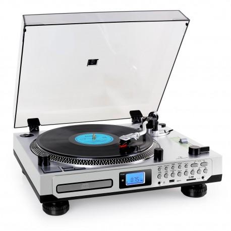 Универсальный проигрыватель Auna TT-1200 CD USB SD RADIO AUX