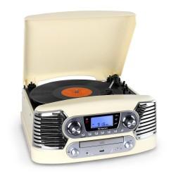 Проигрыватель в ретро стиле Auna RTT CD USB MP3 FM