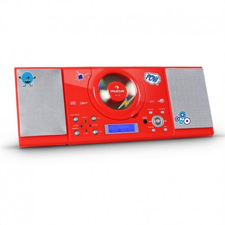 Проигрыватель auna MC-120 MP3-CD-Player USB UKW/MW AUX