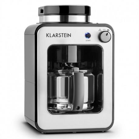 Кофеварка со встроенной кофемолкой Klarstein Congenio Nero 600W 0.6л