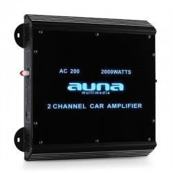 2-х канальный автомобильный усилитель Auna W2-AC200 180W RMS