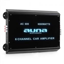 Автомобильный 6-канальный усилитель Auna