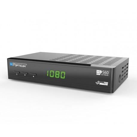 Спутниковый ресивер OPTICUM BLUE HD S60 Camping HDTV Full HD