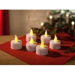 Комплект светодиодных свечей - 6 шт