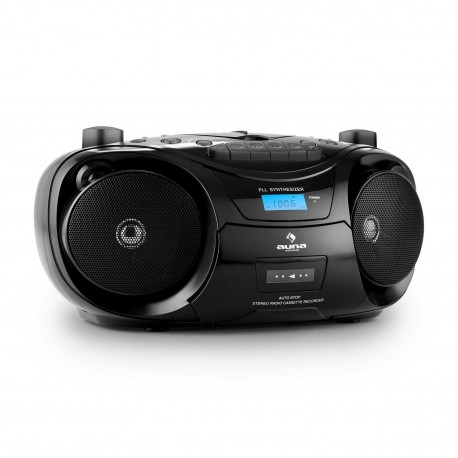 Проигрыватель Auna Groove Star Bluetooth FM CD MP3 USB