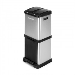 Трехсекционная мусорная корзина Ecosystem