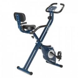 Велотренажер складной, с кардиомонитором и спинкой Klarfit X-Bike