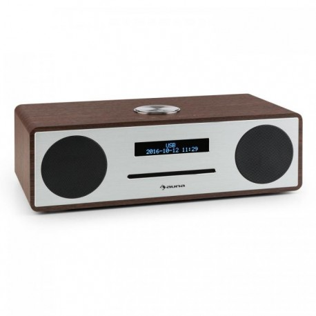 Проигрыватель Auna Stanford CD DAB+/FM Bluetooth