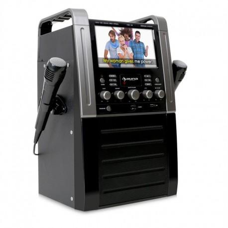 Караоке система Auna KA8B DVD-Player USB SD MP3