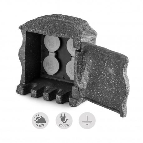 Розетка-распределитель с пультом Waldbeck Power Rock