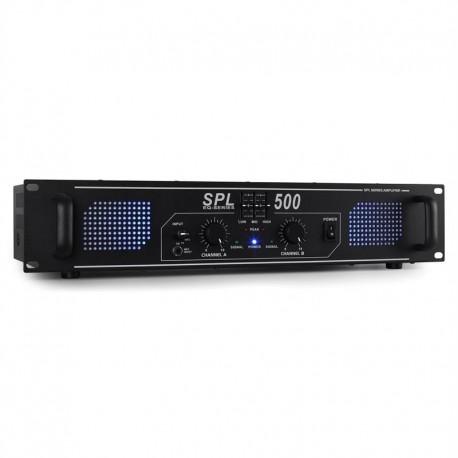 Усилитель SkyTec SPL500 Вт DJ PA EQ Hi-Fi