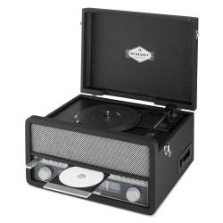 Ретро стереопроигрыватель Auna Belle Epoque 1907 Винил FM CD Bluetooth USB