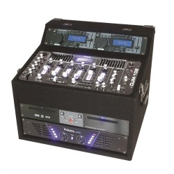 Пульт микшерный IBIZA DJ1000MKII DJ-STATION CD MP3 USB AUX