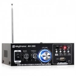 Усилитель двухканальный Skytronic AV-360