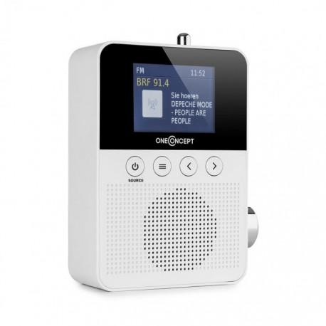Радио OneConcept Plug+Play DAB Steckdosen