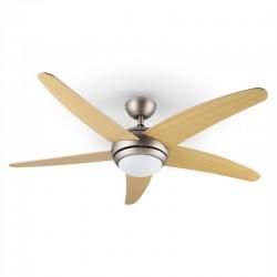 Потолочный светильник-вентилятор Klarstein Bolero 134см 55W