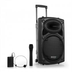 Портативная акустическая система Ibiza Port12VHF-BT USB SD AUX MP3