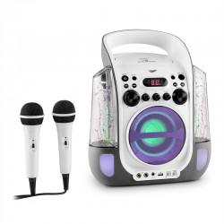 Караоке система auna Kara Liquida со светодиодной подсветкой CD USB MP3