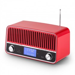 Проигрыватель в ретро стиле Auna Nice DAB + FM Bluetooth 2.1 AUX
