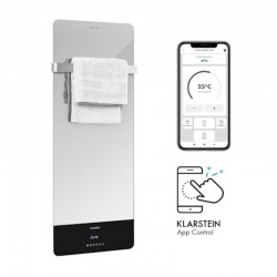 Инфракрасный обогреватель Klarstein Hot Spot Crystal Reflect Smart Infrarotheizung