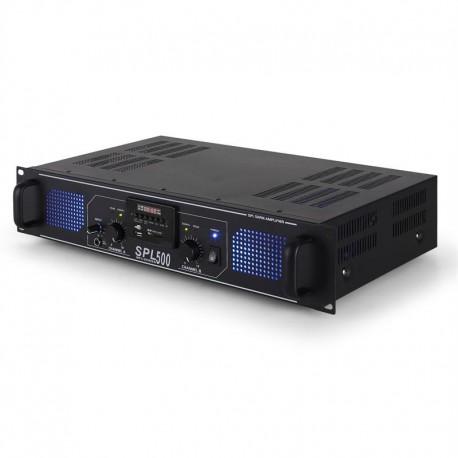 Усилитель Skytec SPL-500 PA-HiFi 2 x 250W USB SD MP3