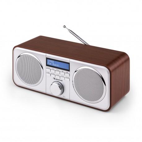 Цифровое радио auna Georgia Digitalradio DAB FM AUX